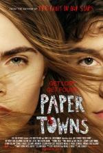 Filmplakat Margos Spuren - PAPER TOWNS - engl. OmU