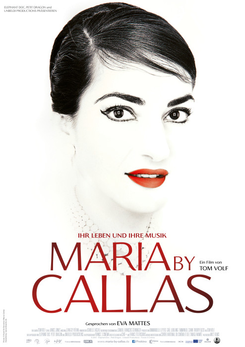 Filmplakat MARIA BY CALLAS