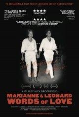 Filmplakat Marianne & Leonard - WORDS OF LOVE