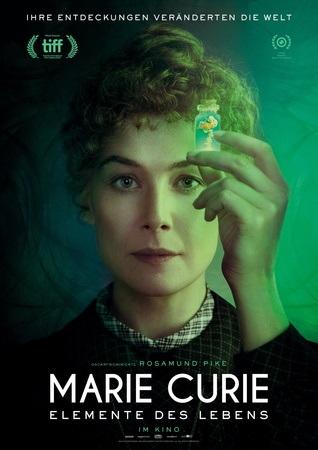 Filmplakat MARIE CURIE - Elemente des Lebens
