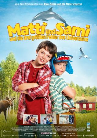 Filmplakat Matti und Sami und die drei größten Fehler des Universums