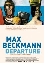 Filmplakat MAX BECKMANN - DEPARTURE - der Maler