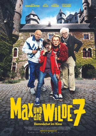 Filmplakat MAX und die wilde 7