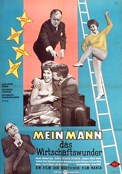 Filmplakat Mein Mann, das Wirtschftswunder