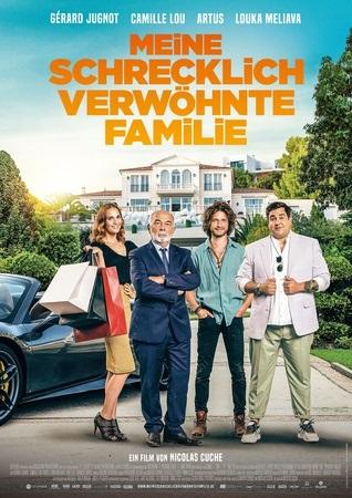 Filmplakat Meine schrecklich verwöhnte Familie