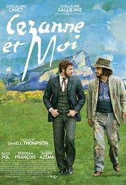 Filmplakat Meine Zeit mit Cézanne - Cézanne et moi - franz. OmU