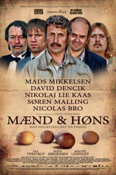 Filmplakat Men & Chicken - MÆND & HØNS - dän. OmU