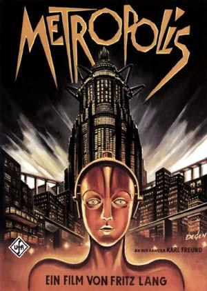 Filmplakat METROPOLIS (restaurierte Langfassung)