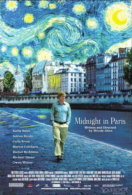 Filmplakat Midnight in Paris (engl. OmU)