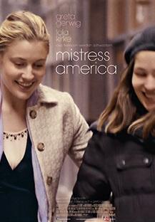 Filmplakat MISTRESS AMERICA