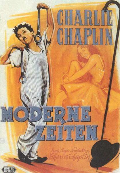 Filmplakat Moderne Zeiten