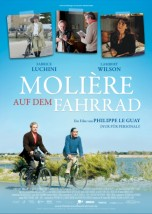 Filmplakat Molière auf dem Fahrrad - franz. OmU