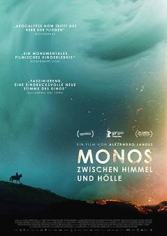Filmplakat MONOS - Zwischen Himmel und Hölle