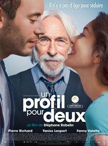Filmplakat Monsieur Pierre geht online - Un profil pour deux - franz. OmU
