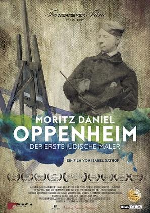 Filmplakat Moritz Daniel Oppenheim - Der erste jüdische Maler