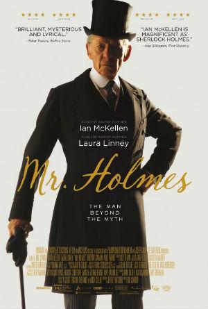 Filmplakat MR HOLMES - engl. OmU