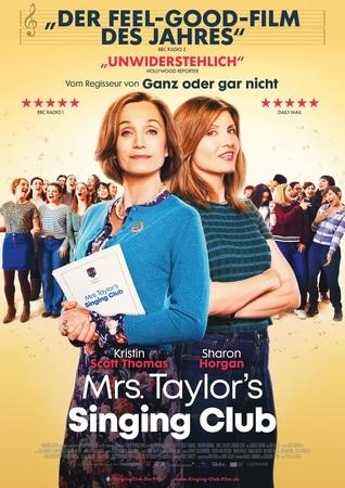 Filmplakat MRS. TAYLOR'S SINGING CLUB