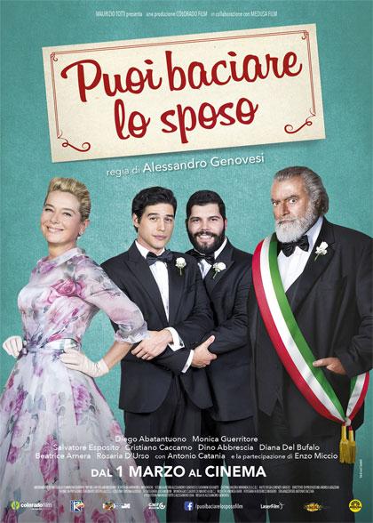Filmplakat MY BIG CRAZY ITALIAN WEDDING - Puoi baciare lo sposo -ital. OmU