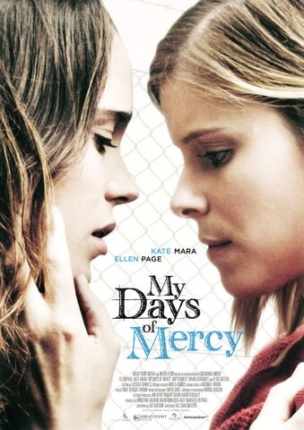 Filmplakat MY DAYS OF MERCY - engl. OmU