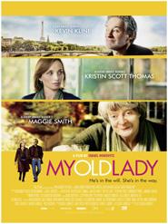 Filmplakat MY OLD LADY - Eine Erbschaft in Paris