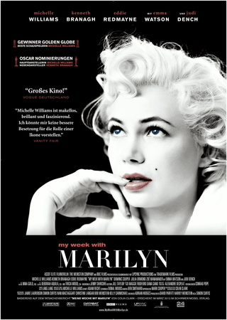 Filmplakat MY WEEK WITH MARILYN  - engl. OmU