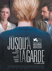 Filmplakat Nach dem Urteil - JUSQU'À LA GARDE - franz. OmU