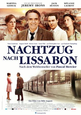 Filmplakat Nachtzug nach Lissabon - engl. OmU