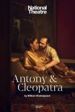 Filmplakat National Theatre London: ANTONY & CLEOPATRA mit Ralph Fiennes - engl. OF