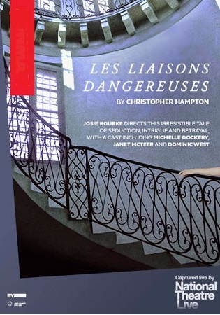 Filmplakat NATIONAL THEATRE LONDON/Donmar Warehouse: Les Liaisons Dangereuses - engl. OF