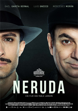 Filmplakat NERUDA