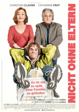 Filmplakat Nicht ohne meine Eltern - MOMO - franz. OmU
