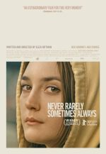 Filmplakat Niemals selten manchmal immer - NEVER RARELY SOMETIMES ALWAYS - engl. OmU