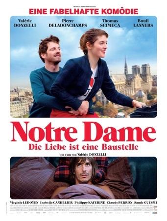 Filmplakat NOTRE DAME - Die Liebe ist eine Baustelle