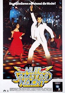 Filmplakat Nur Samstag Nacht