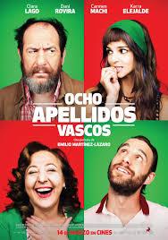 Filmplakat OCHO APELLIDOS VASCOS - 8 Namen für die Liebe - span. OmU