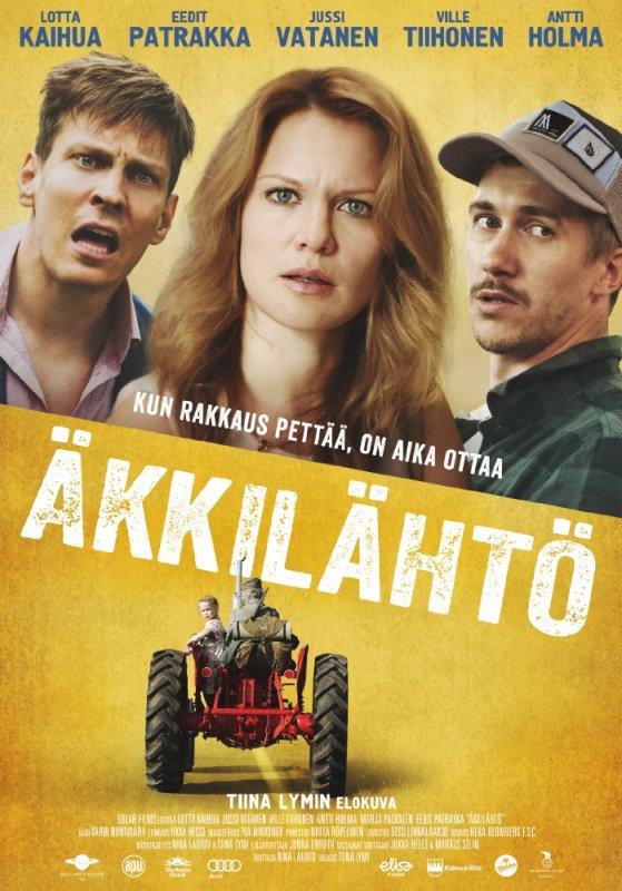 Filmplakat Äkkilähtö / Off the map - finn. OmU