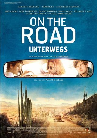 Filmplakat ON THE ROAD - UNTERWEGS