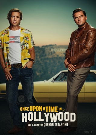 Filmplakat ONCE UPON A TIME IN HOLLYWOOD - engl. OmU