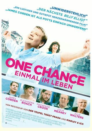 Filmplakat ONE CHANCE - Einmal im Leben