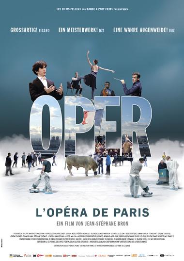Filmplakat OPER - L´opéra de Paris