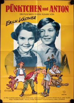 Filmplakat Pünktchen und Anton (1953)