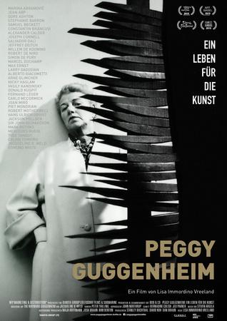 Filmplakat PEGGY GUGGENHEIM: Ein Leben für die Kunst