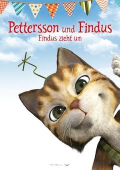 Filmplakat Pettersson und Findus - Findus zieht um