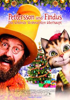 Filmplakat Pettersson und Findus - Das schönste Weihnachten überhaupt