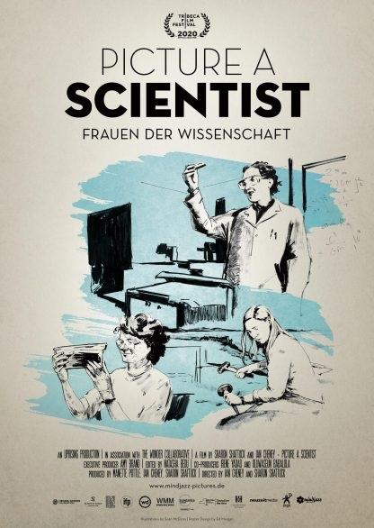 Filmplakat PICTURE A SCIENTIST - Frauen in der Wissenschaft