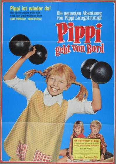 Filmplakat Pippi geht von Bord
