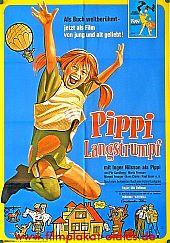 Filmplakat Pippi Langstrumpf