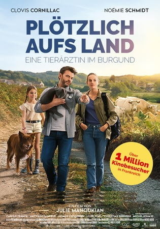 Filmplakat Plötzlich aufs Land - Eine Tierärztin im Burgund