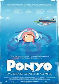 Filmplakat PONYO - Das große Abenteuer am Meer