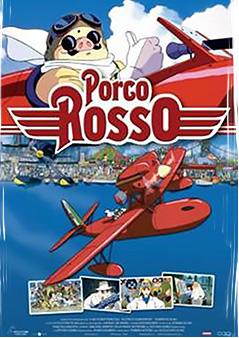 Filmplakat PORCO ROSSO